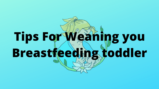 Weaning your breastfed toddler