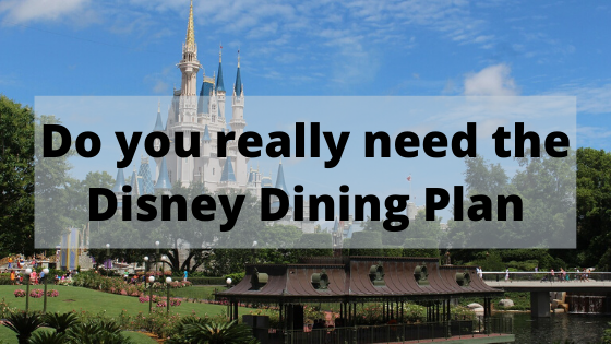 Is the Disney Dining Plan a good choice