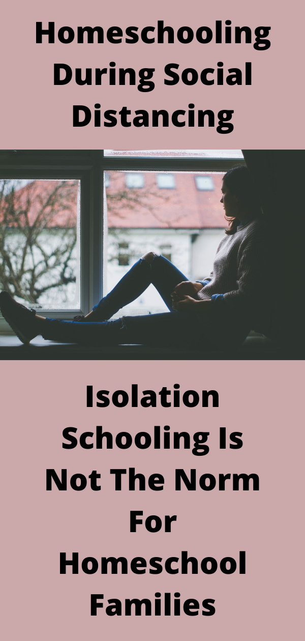 homeschooling is different than isolation schooling