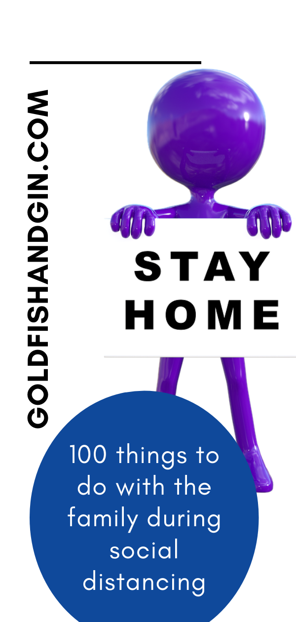 100 things to do during social distancing