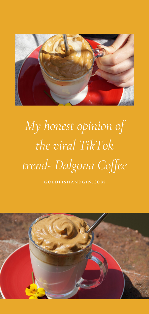 My honest opinion of the viral TikTok trend- Dalgona Coffee